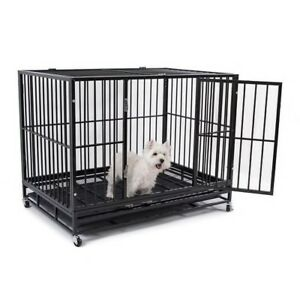 Heavy Duty Dog Cage For Sale!