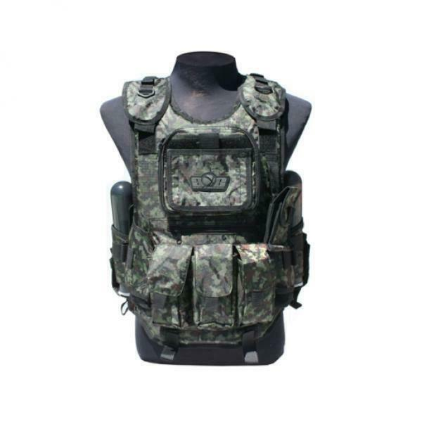 Gen X Tactical Vest Woodland