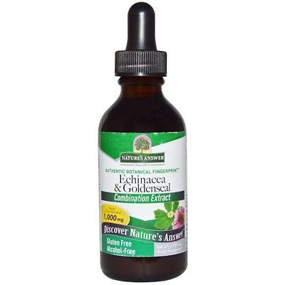 Nature's answer Echinacea & Goldenseal Alcohol-Free 30ml