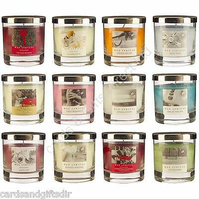 - Wax Lyrical Timeless Medium Candle In Glass Jar Scented Candles