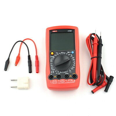 Uni-t Ut58d Acdc Large Lcd Modern Digital Multimeter