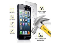 TEMPERED GLASS SCREEN PROTECTOR PROTECTION FOR IPHONE 5 5c 5S