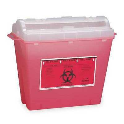 First Aid Only Sharps Disposal Container 5 Qt. M943 New Free Shipping