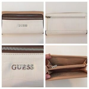 Guess Wallet, Brown & White