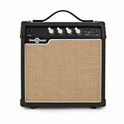 15W Acoustic Guitar Amp by Gear4music