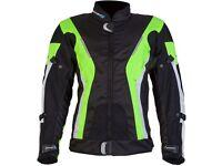 New Spada Curve Waterproof Textile Jacket - Black / Fluo - £129.99