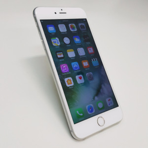 AS NEW IPHONE 6S PLUS 64GB SILVER/GREY COLOUR