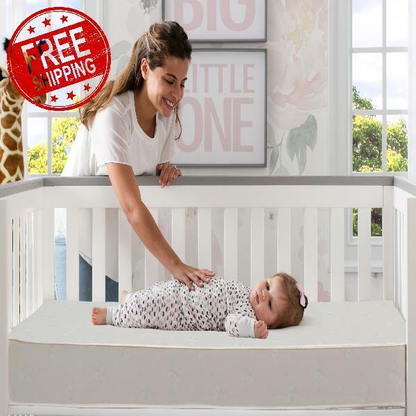 Serta Sertapedic Moongaze 5-Inch Crib & Toddler Mattress Waterproof