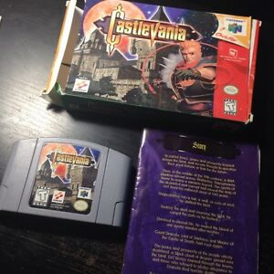Castlevania 64 w/box and manual