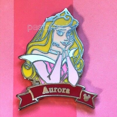 Disney Pin Aurora Princess Banner Sleeping Beauty Hidden Mickey HM Authentic ()