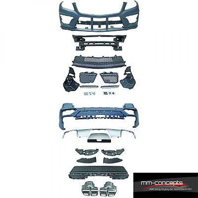 Bodykit für Mercedes M Klasse ML W166 Stoßstange Heck Front Schweller 63 AMG ABS