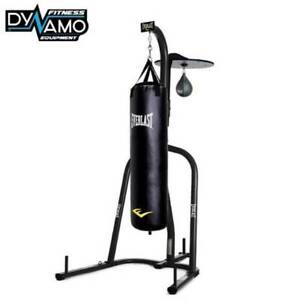 Everlast 4ft Boxing Bag with Boxing Stand & Speed Ball Brand New