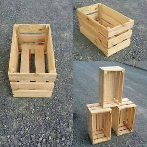 Wooden Crates $49 Burleigh Heads Gold Coast South Preview
