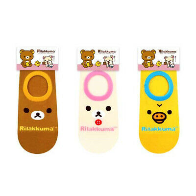 New 3 Pairs Funny Character Socks Foot-cover Big Kids Casual Cute Cartoon Socks