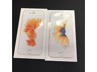 2X iPhone 6S-32GB-Unlocked to any networks-sealed in box -12monthes apple warranty