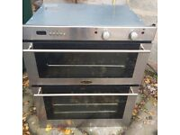 BELLING STAINLESS STEEL. BUILT IN ELECTRIC COOKER EX CLEAN CON £69