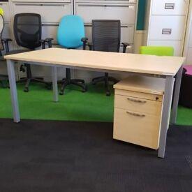 Cheap Maple Desk Harlow