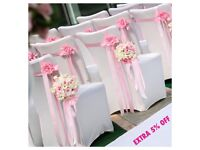 CHAIR COVER HIRE & MORE - EXTRA 5% OFF-LIMITED TIME ONLY