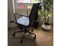 Eames Style Office Chair - All black edition