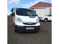 VAUXHALL VIVARO DIRECT BT F/S/H NO VAT