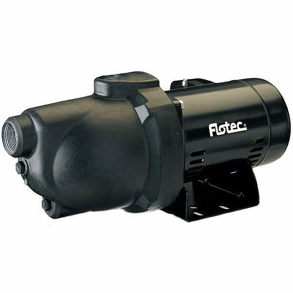 Flotec FP4012 - 8 GPM 1/2 HP Thermoplastic Shallow Well Jet Pump (115V/230V)