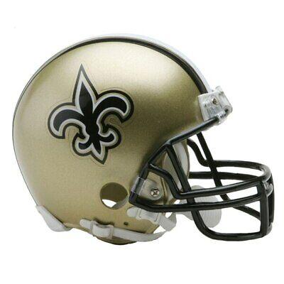 ts Mini Helm VSR4 Riddell Football Helmet OVP Footballhelm (Saints Helm)
