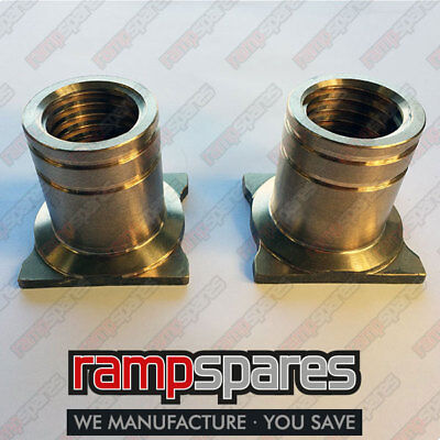 Two Consul Mark 2 Safety/Lift Nut 2 post Garage Lift ramp spares parts