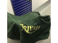 TRIUMPH Motorcycle Bike Cover, Raine and Dust Proof.