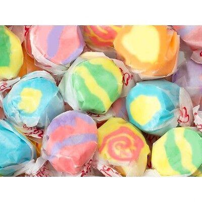 TROPICAL ASSORTED Salt Water Taffy Candy ~ TAFFY TOWN ~ 50 Pieces FS](Salt Candy)