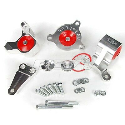 NEW REV9 RSX CIVIC SI ENGINE MOTOR MOUNT MOUNTS CNC BILLET DC5 EP3 K20 K24 K for sale  Shipping to Canada