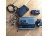 Office transcription machine + Recorder