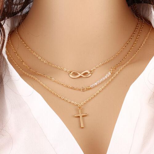 Necklace - Fashion Charm Jewelry Choker Chunky Statement Bib Pendant Chain Women Necklace