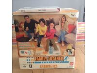 Wii Family Trainer Mat and Wii Game