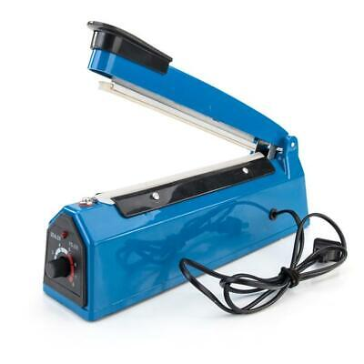 8 300w Plastic Heat Sealer Sealing Machine Us Standard Blue