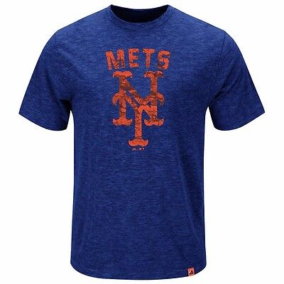 MLB Baseball T-Shirt NEW YORK NY METS Hours and Hours von Majestic