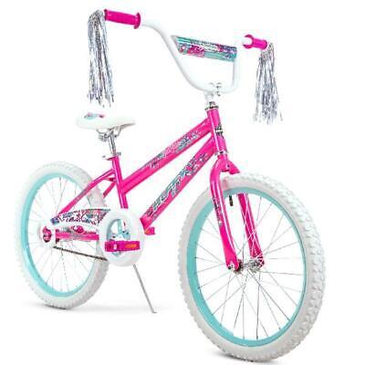 Huffy Girls' Sea Star Bike Outdoor Biking Cycling Bicycle Riding Toy, 20