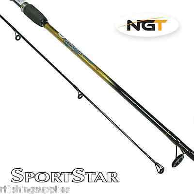 BRAND NEW 6FT 2 PIECE NGT SPORTSTAR SPINNING ROD FOR PERCH PIKE RIVER FISHING