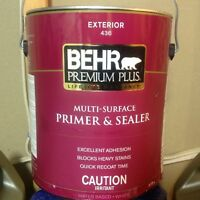 BEHR products brand new unopened