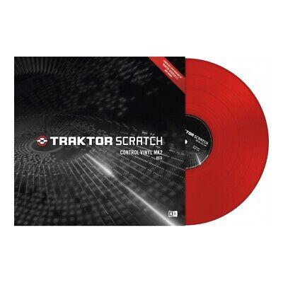 Native Instruments Traktor Scratch Timecode Vinyl MK2 red gebraucht kaufen  Dresden
