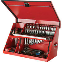 Good used - Portable open top toolbox/service tool box