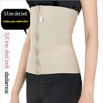 Slim S Line Belt Waist Slimming Trainer Tummy Girdle Body Support Corset