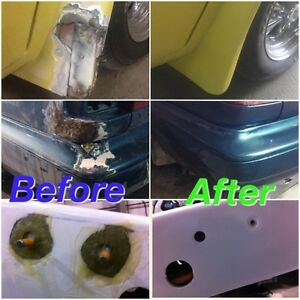 Affordable plastic & fiberglass repair .LOOK!!