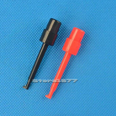 5 Pairs Mini Single Hook Clip Grabber Test Probe For Smd Ic Multimeter S674