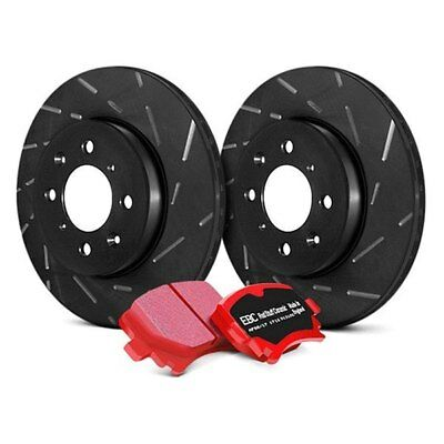 For Dodge Charger 06-18 Brake Kit EBC Stage 4 Signature Slotted Rear Brake Kit w