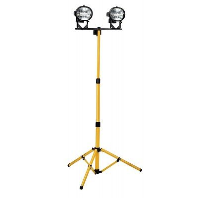 Defender Workshop 500w Twin Head Tungsten Halogen Tripod Flood Lights