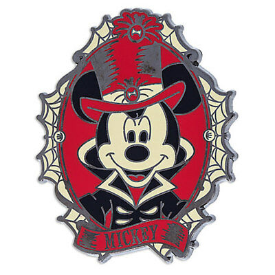 NEW! Disney Parks Halloween 2017 Mickey Mouse Costume Skeleton Cameo Pin (Disney Halloween Costumes 2017)