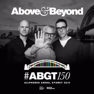 4 x Above & Beyond ABGT150 Sydney GA Standing. (EzyTickets) Campsie Canterbury Area Preview