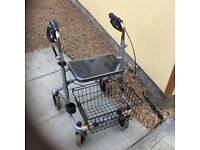 Drive Migo 4 wheeled Rollator new never used for outdoor and indoor use £100 or offers