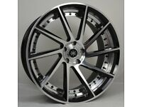 """22"""" AMS T Wheels & Tyres for BMW X5, Range Rover Sport & Discovery ETC"""