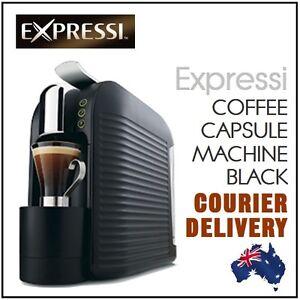 new black 2013 aldi expressi pod capsule coffee machine system bonus taster pack ebay. Black Bedroom Furniture Sets. Home Design Ideas